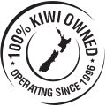 100% Kiwi owned and operated since 1996.